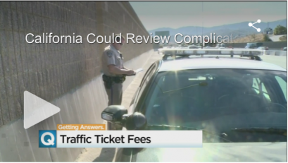 California is taking a new look at the highfees tacked onto traffic tickets and other criminal violations, wondering if the money could be better spent.