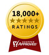 Over 18,000 Five Star Reviews